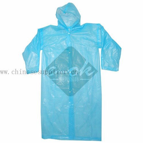 Raincoat In Pouch :