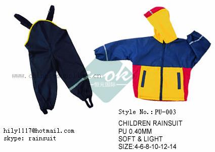 PU Raincoat