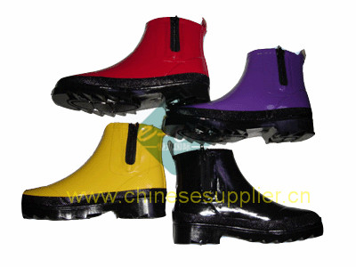fashion rubber boot