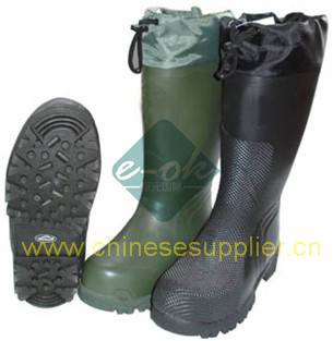 safety rubber boot