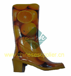 womens rubber boot
