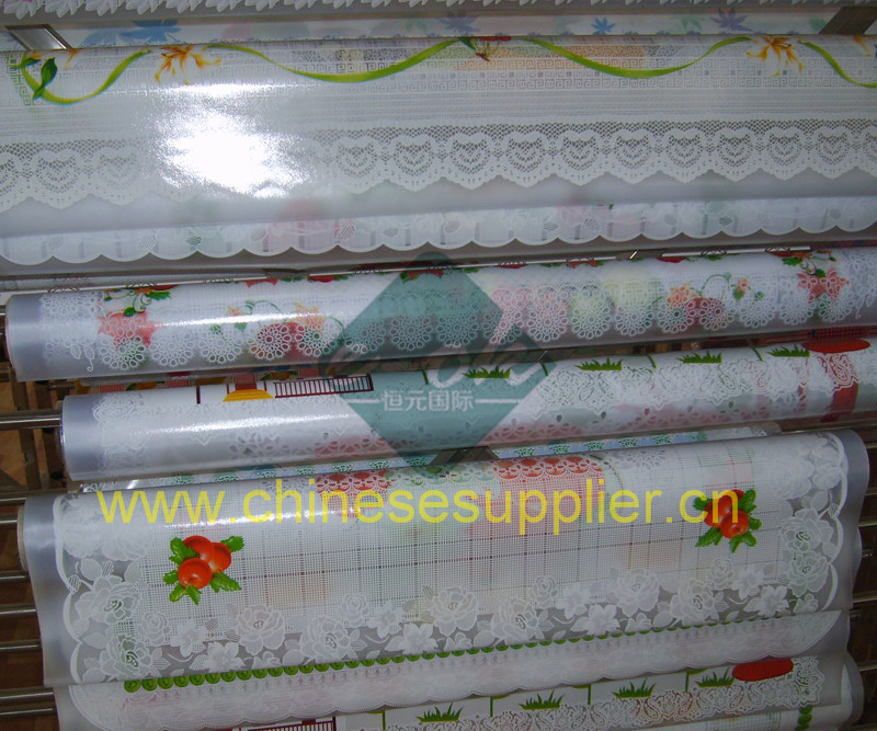 Plastic Table Cover China Table Cloth Supplier Vinyl Table