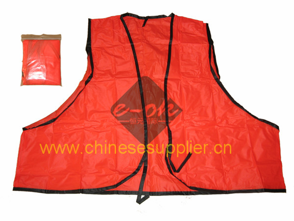 PVC reflective safety vests